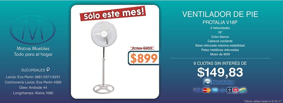 VENTILADOR DE PIE BONN B-100