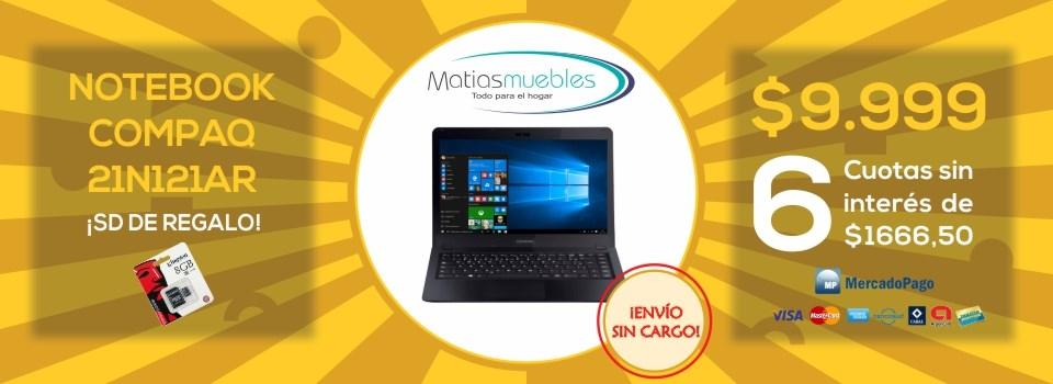 Notebook Compaq 21-NOF3AR