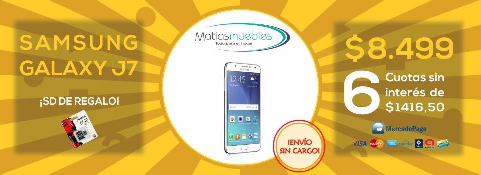 Celular libre Samsung Galaxy J7