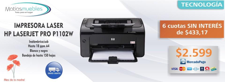 Impresora laser hp - MatiasMuebles