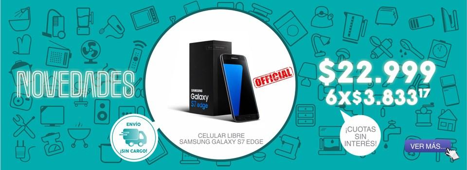CELULAR LIBRE SAMSUNG GALAXY S7 EDGE