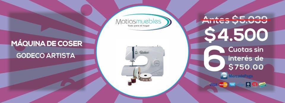 Máquina de coser Godeco artista