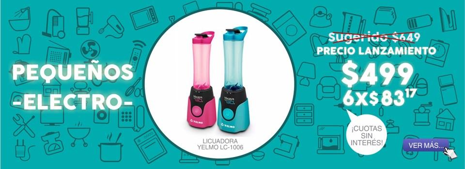 LICUADORA YELMO LC-1006 MIXER TO GO