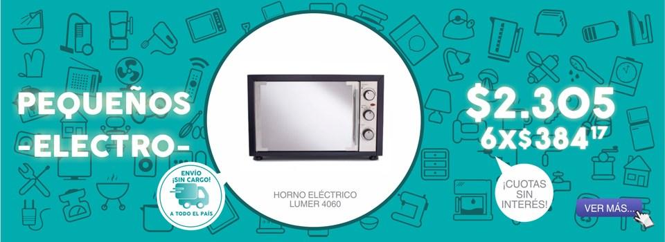 HORNO ELECTRICO LUMER 4060
