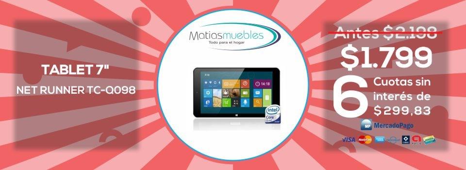 Tablet net runner tc-q098