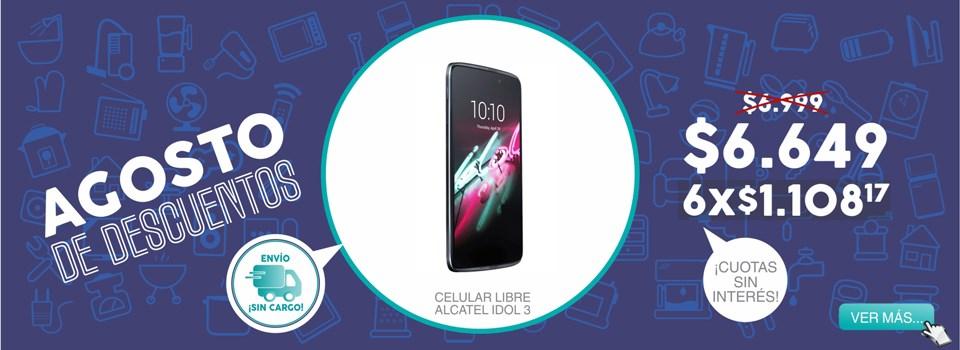 Celular libre alcatel idol 3
