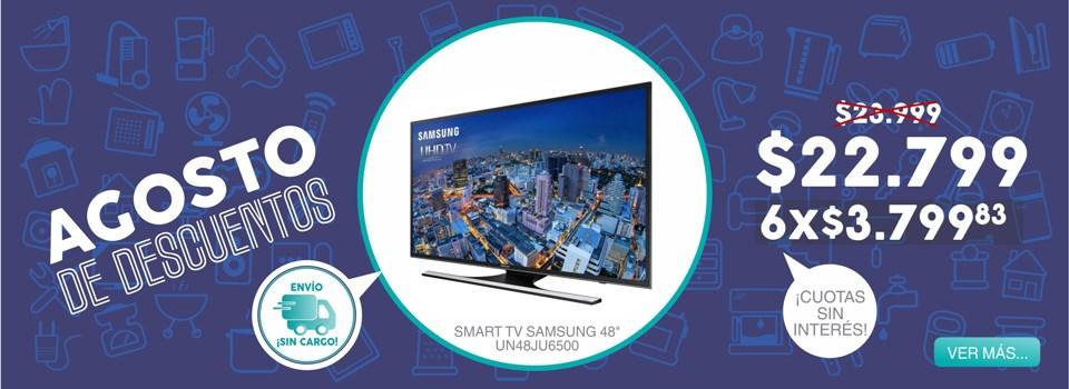 Smart tv samsung UN48JU6500