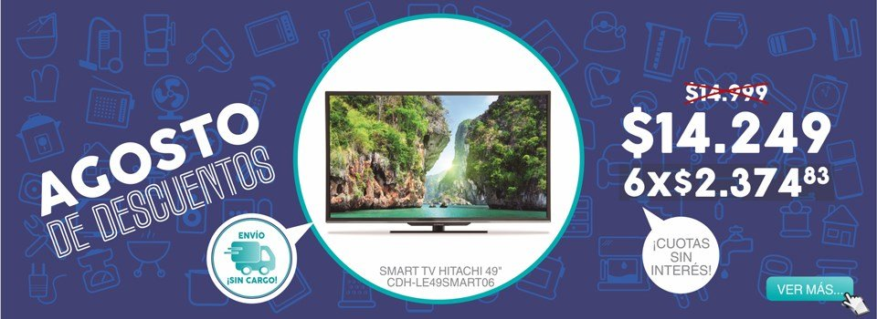 Smart tv Hitachi CDH-LE49SMART06