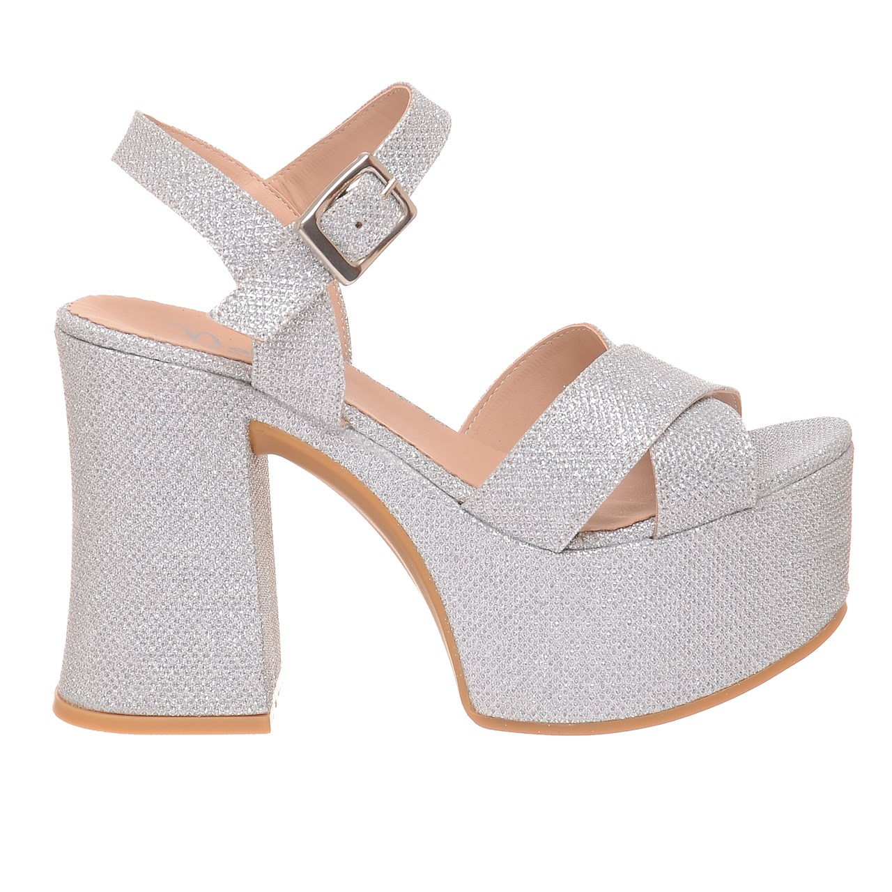 11339312cdb Sandalias De Mujer Fiesta Zapatos Moda Vestir Taco Hermosas