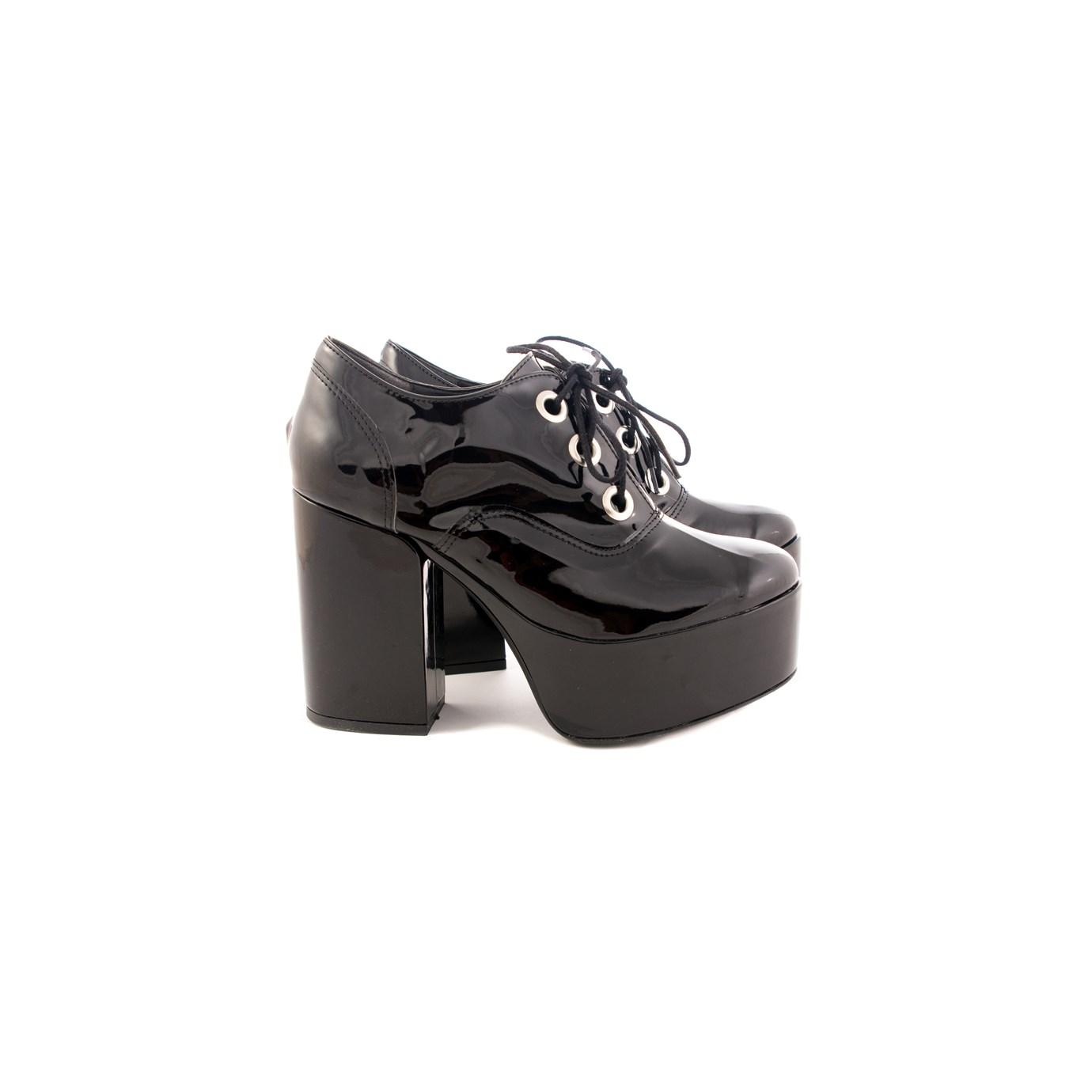 b245b15a Zapatos Botinetas Plataforma Charol Mujer Moda 2018 | elmago.com.ar